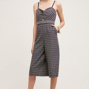 Anthropologie Elevenses patterned romper